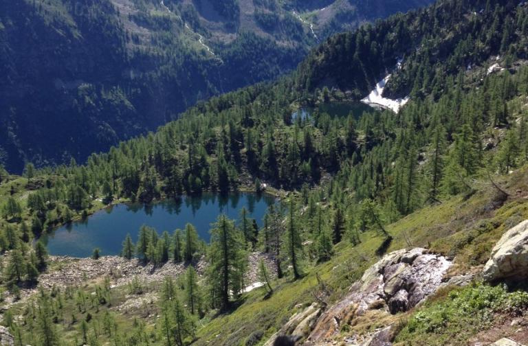 Lago Martel e Lago Nero